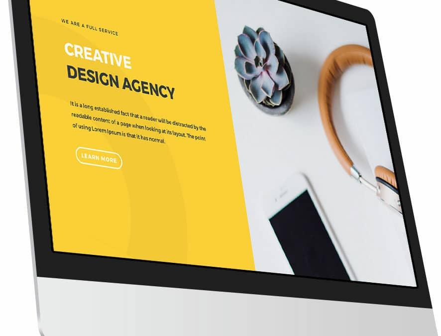 computer screen showing a website